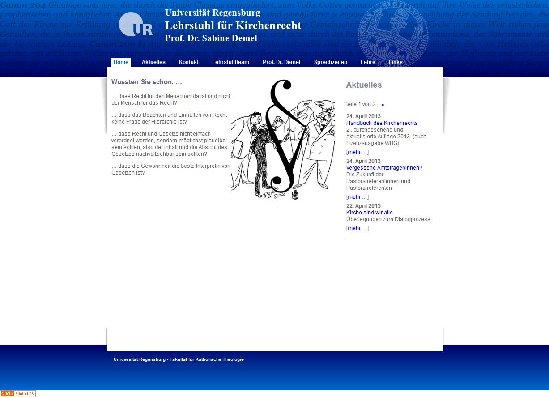 Kirchenrecht_Uni_Regensburg